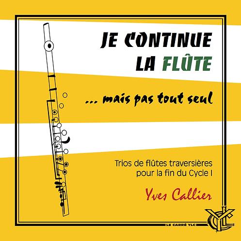 Je continue la flûte... mais pas tout seul