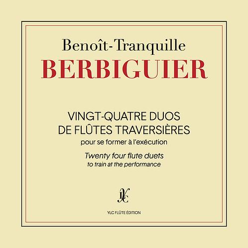 B.T. BERBIGUIER 24 Duos pour se former à l'exécution
