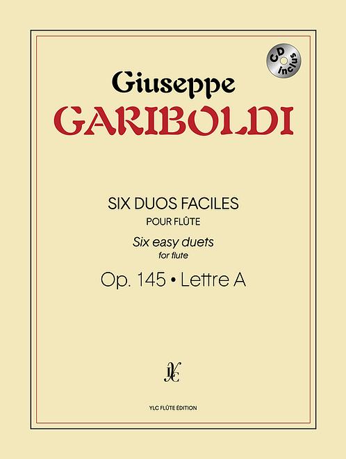 G. GARIBOLDI 6 Duos faciles avec CD