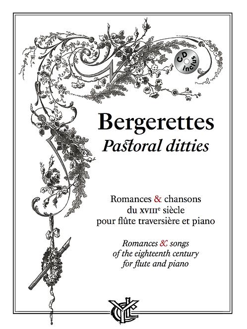 Bergerettes pour flûte et piano avec CD