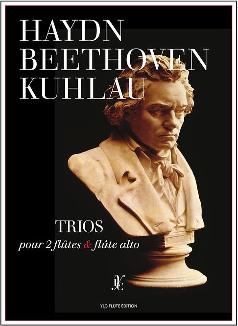 HAYDN BEETHOVEN KUHLAU Trios pour 2 flûtes & flûte Alto