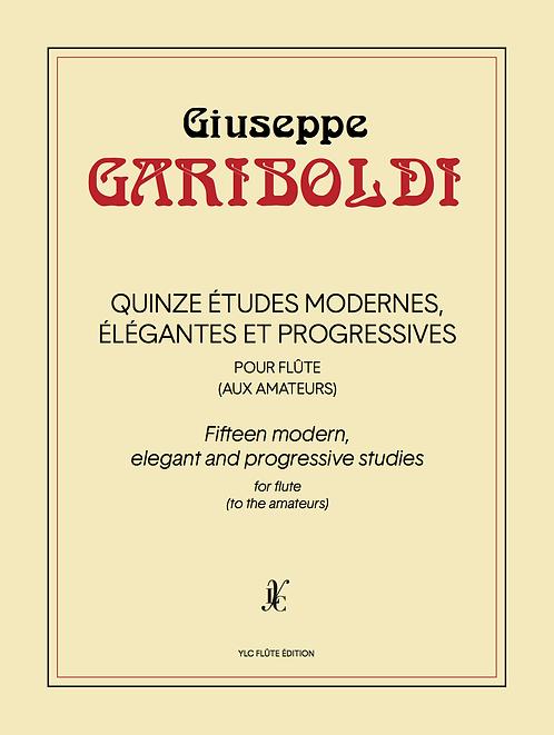 G. GARIBOLDI 15 Études modernes, élégantes et progressives