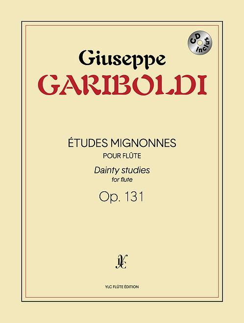 G. GARIBOLDI Études mignonnes Op. 131 avec CD