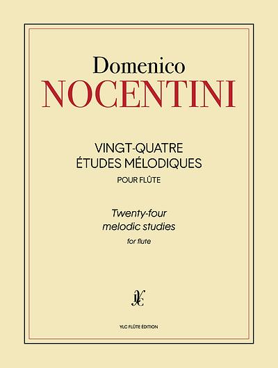 D. NOCENTINI 24 Études mélodiques