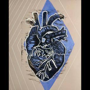 Perwinkle Heart