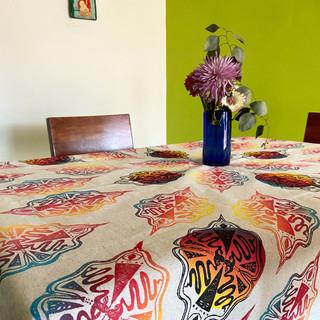 Serpent Mandala Tablecloth