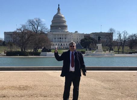 Cure Goes to Washington!