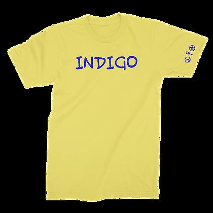 INDIGO TEE (YELLOW)