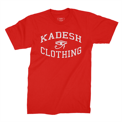 EYE OF KADESH TEE (RED)