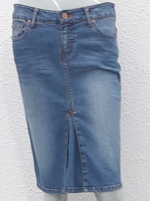 SAIA MIDI DENIM ZARA WOMAN