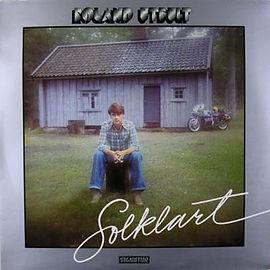 """Roland Utbults LP """"Solklart"""" från 1977"""