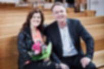 Roland Utbult tillsammans med Terese Fredenwall – 2012 års utbultstipendiat.