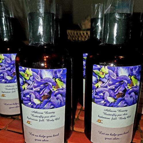 Butterfly pea flower  Full body hydration oil