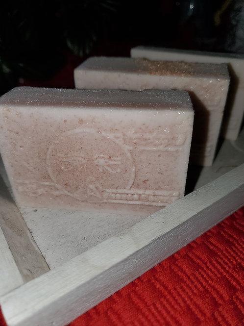 Himalayan pink salt soap!