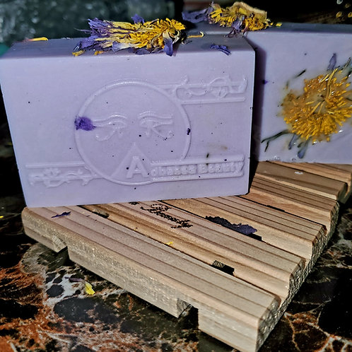 Blue lotus & shea butter soap