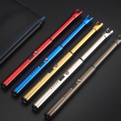 Lighter USB Rechargeable Arc Lighter Windproof Electric OutdoorFire Starter