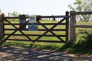 Blackrock Copse Dog area Entrance