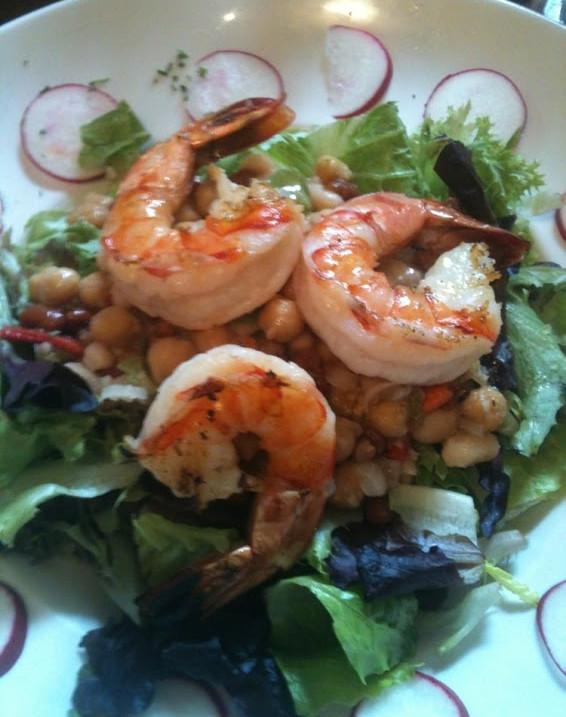 Shrimp & Lentils