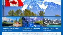 Conheça o Canadá Costas Leste Oeste