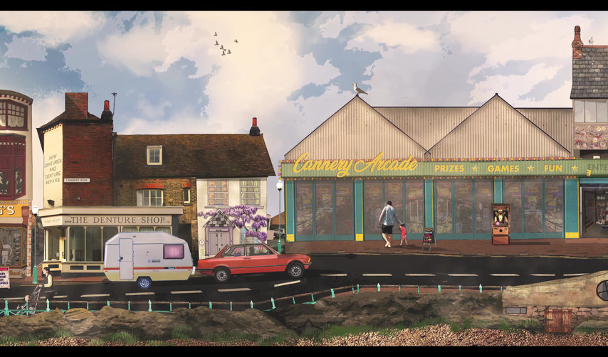 CONCEPT ART - CANNERY ROW SEAFRONT