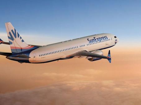 SunExpress 2021 İçin Antalya'dan Yeni İç ve Dış Hat Uçuşlarını Açıkladı