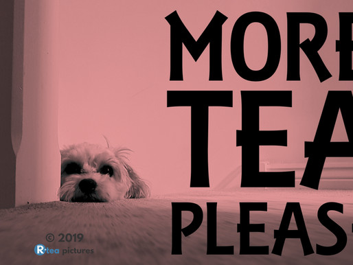 Tea Dog - More tea please
