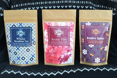 Winter Tea Trio