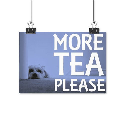 More Tea Please Poster