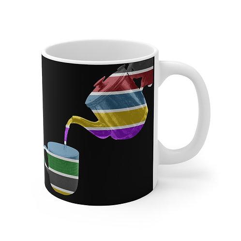 Pouring Colour Mug