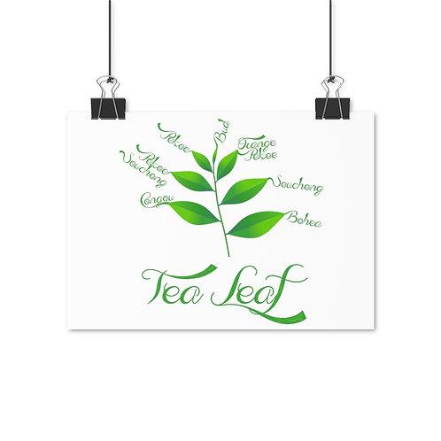 Tea Leaf Poster