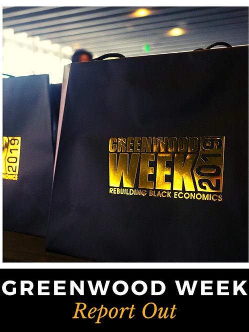 Greenwood Week 2019 Report