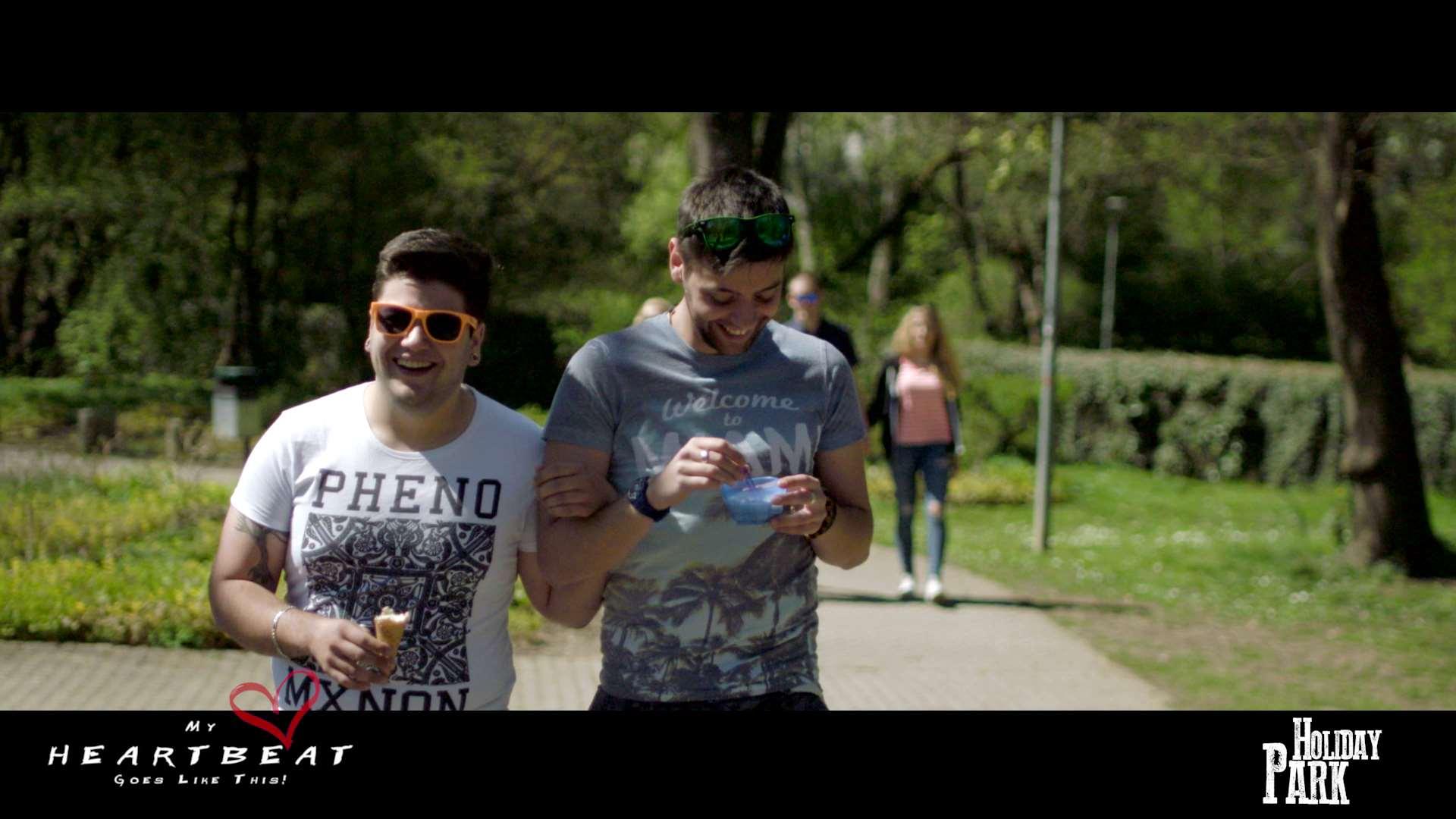 Holiday Park | Musikvideo | Dreh