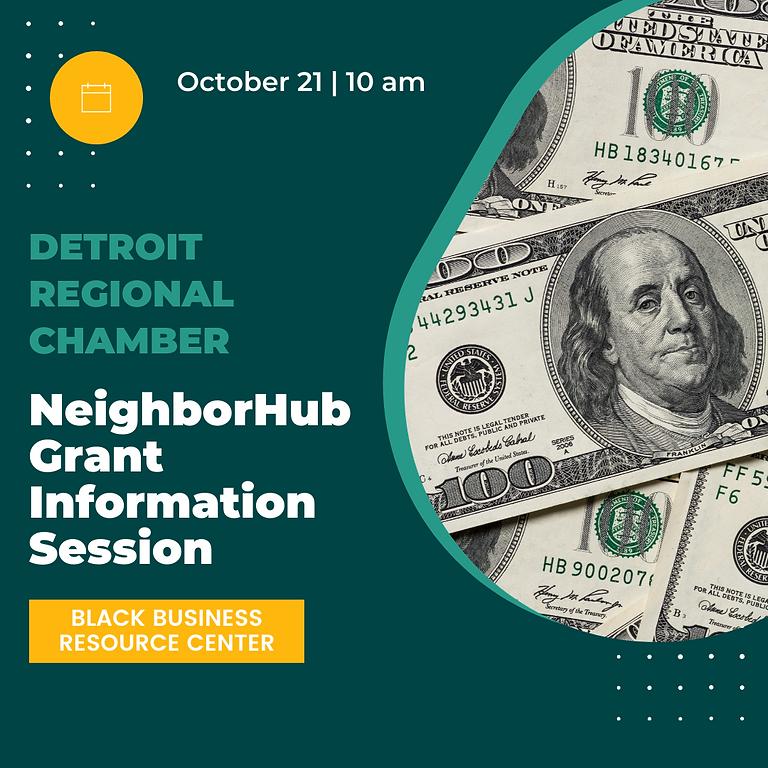 NeighborHub Grant Information Session