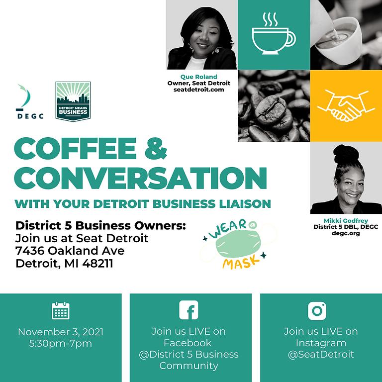 Coffee & Conversation (District 5)