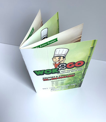 A5 8 Pages Booklet