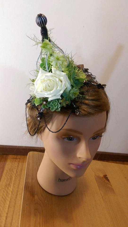 2nd Place Hair Piece Front View