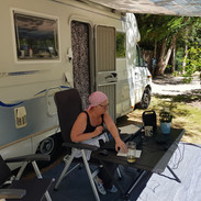 Camping with the motorhome