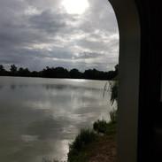 Motorhome morning view