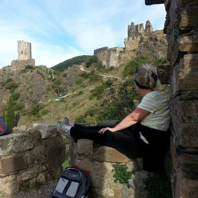Hiking and Cathar castles