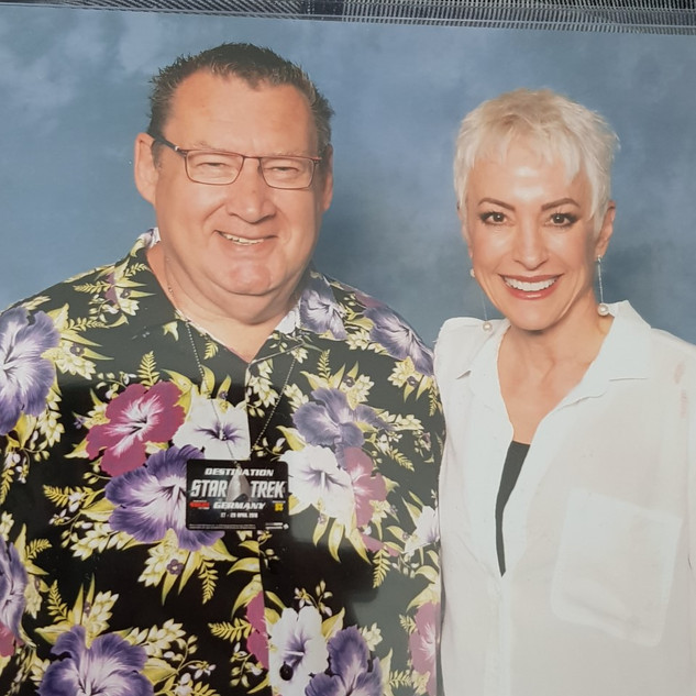 Nana Visitor from Star Trek DS9