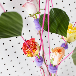 Single rose valentine design