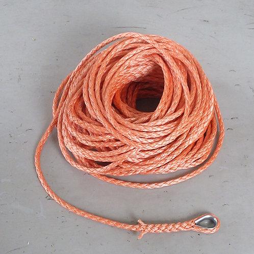 ウインチ用延線林業ロープ・ダイニーマ(イザナス)12打ロープ・