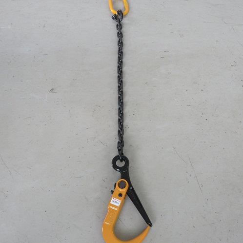 鉄板吊チェーンスリング・キトーマスターリンク2.4T・スーパーロックフックSLH-2N付