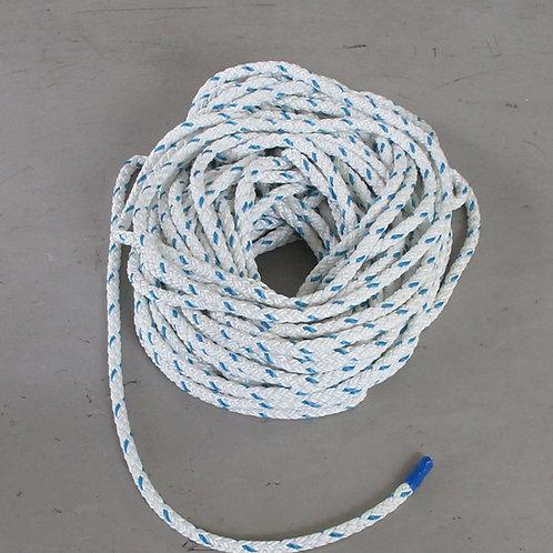 ウインチ用延線林業ロープ・テトロン12打ロープ 12mm