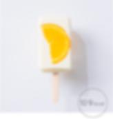 オレンジ in ヨーグルトデザートアイス ぽかぽかアイスポップ