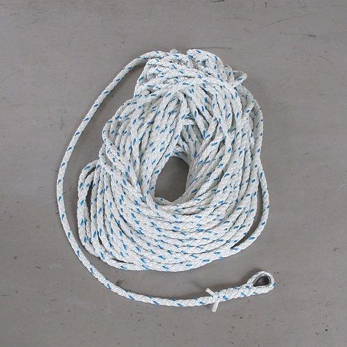 ウインチ用延線林業ロープ・テトロン12打ロープ