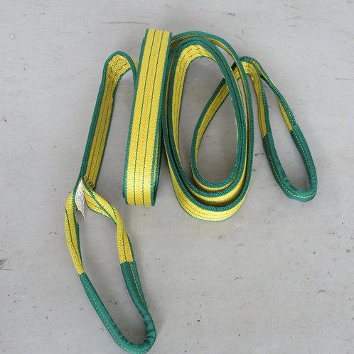 色分けスリングベルトⅣE  黄色 50mm幅x6m   強度2t