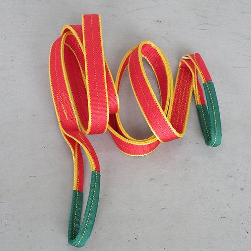 色分けスリングベルトⅣE 赤色 5m 強度2t