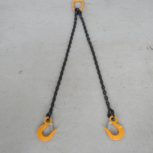 2点吊チェーンスリング キトーマスターリンク1.7T キトースリングフック1.1T