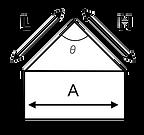 つり角度簡易測定法図